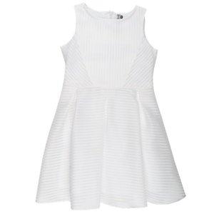 RUMBL meisjes jurk organza stripe