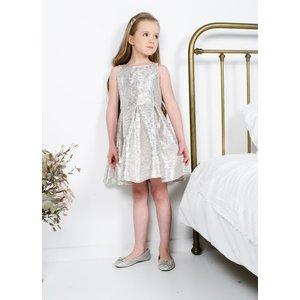 RUMBL meisjes jurk lurex stripe