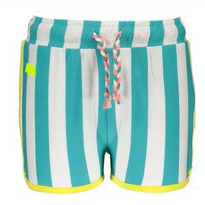 B.NOSY meisjes korte broek ceramic stripe