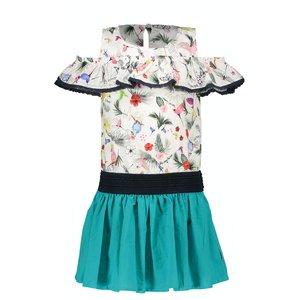 B.NOSY meisjes jurk birdy
