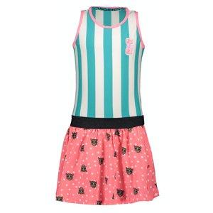 B.NOSY meisjes jurk tiger dots