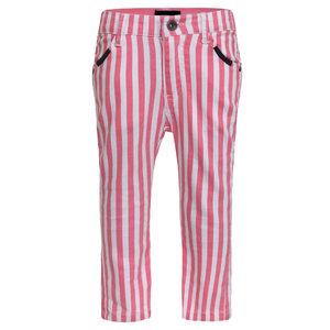BEEBIELOVE meisjes broek pink stripe