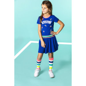 B.NOSY meisjes jurk princess blue