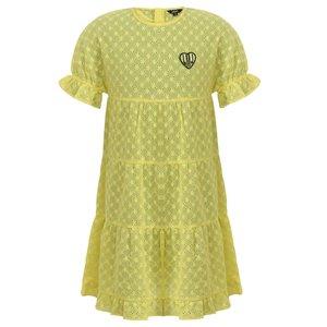 LITTLE MISS JULIETTE meisjes jurk yellow