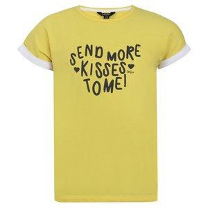 LITTLE MISS JULIETTE meisjes t-shirt yellow