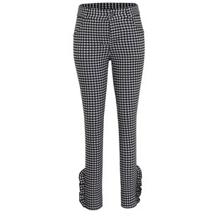 LITTLE MISS JULIETTE meisjes broek grey checkered
