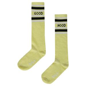 LITTLE MISS JULIETTE meisjes sokken yellow good mood