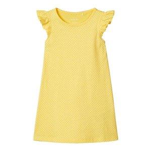 NAME IT meisjes jurk aspen gold