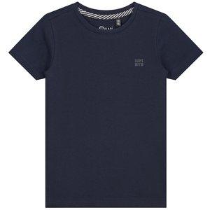 Quapi jongens t-shirt dark blue joshua nos