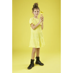 LITTLE MISS JULIETTE meisjes jurk yellow