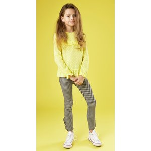 LITTLE MISS JULIETTE meisjes longsleeve yellow