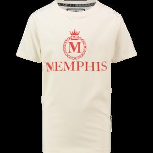 VINGINO jongens t-shirt off white hozano memphis