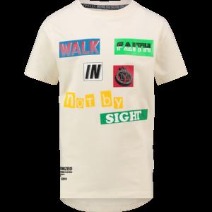 VINGINO jongens t-shirt off white hezema memphis