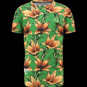 VINGINO jongens t-shirt frog green halled memphis