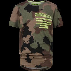 VINGINO jongens t-shirt camouflage green heevar