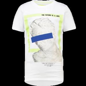 VINGINO jongens t-shirt real white hyper
