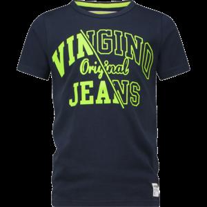 VINGINO jongens t-shirt midnight blue harjan