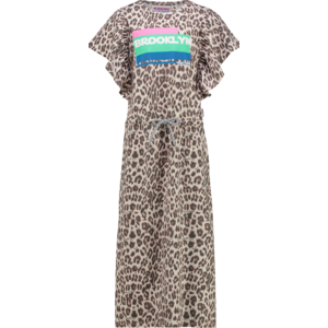 VINGINO meisjes jurk multicolor brown pamanta