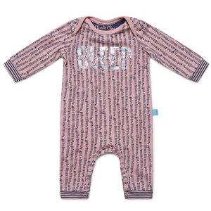 CHARLIE CHOE meisjes jumpsuit powder pink + aop