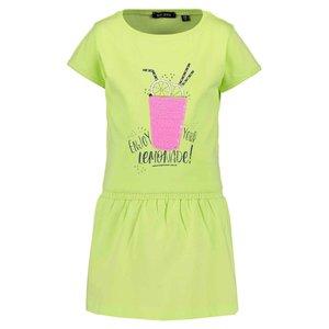 BLUE SEVEN meisjes veeg jurk citrus lemonade beach