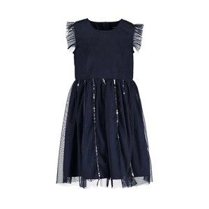 BLUE SEVEN meisjes jurk night blue dresses