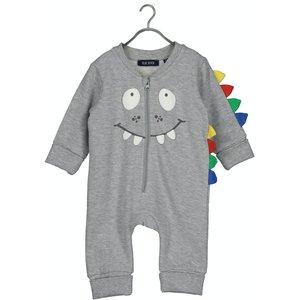 BLUE SEVEN jongens vest medium grey newborn basics