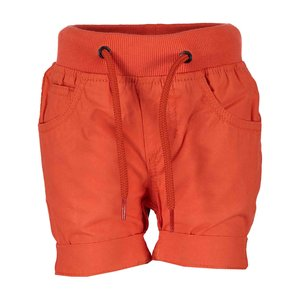 BLUE SEVEN jongens korte broek orange  mini kids basics