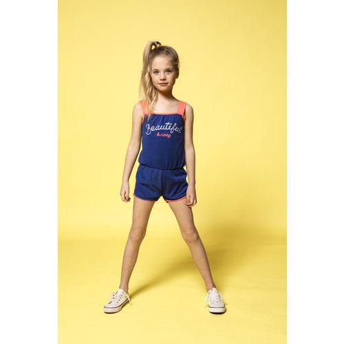 B.NOSY B.NOSY meisjes jumpsuit princess blue