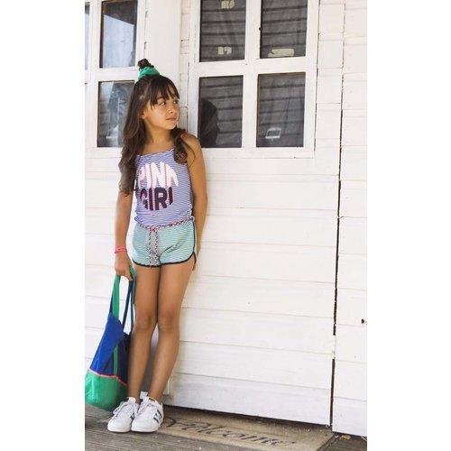 B.NOSY B.NOSY meisjes jumpsuit small stripe princess