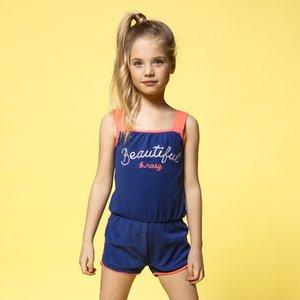 B.NOSY meisjes jumpsuit princess blue