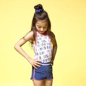 B.NOSY meisjes korte broek princess blue