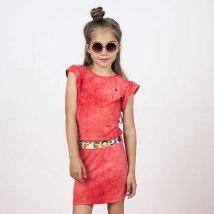 LIKE FLO meisjes jurk papaya