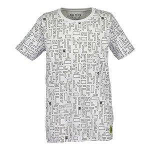 BLUE SEVEN jongens t-shirt white encoded