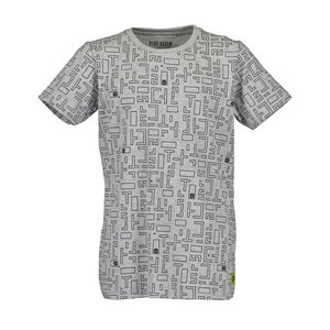 BLUE SEVEN jongens t-shirt med grey encoded
