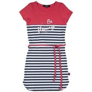 D-RAK meisjes jurk y/d stripes aop