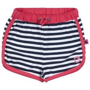 D-RAK meisjes short y/d stripes aop