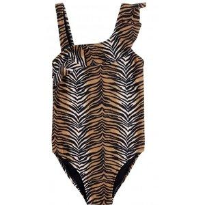 CLAESEN'S meisjes badpak tiger