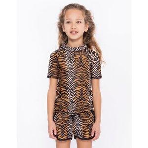 CLAESEN'S meisjes uv -shirt tiger