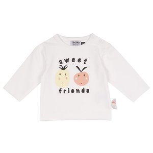 ZERO2THREE meisjes longsleeve bright white