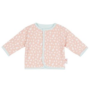 ZERO2THREE meisjes reversible vest fruit stamp aop