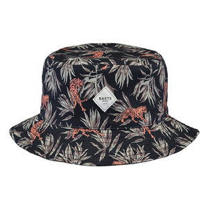 BARTS jongens hoed black antigua reversible