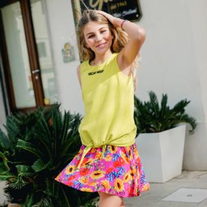 VINGINO meisjes hemd lemon yellow hilene
