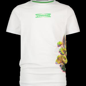 VINGINO jongens t-shirt real white hamim