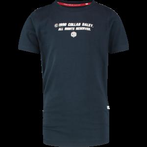 VINGINO jongens t-shirt midnight blue hyatso daley blind