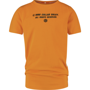 VINGINO jongens t-shirt bright orange hyatso daley blind