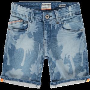VINGINO jongens korte broek mid blue wash carlino