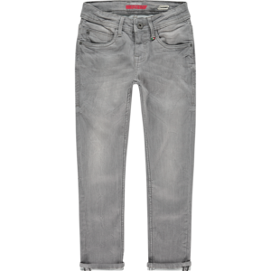 VINGINO jongens jeans broek super skinny fit light grey apache grey nos