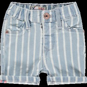 VINGINO meisjes korte broek striped denim belia