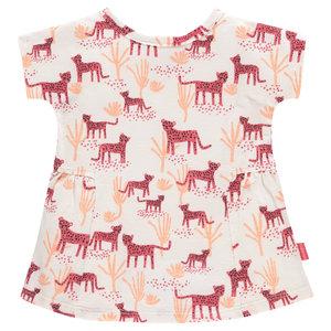 NOPPIES meisjes jurk rouge red claiborne