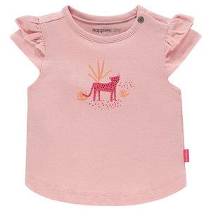 NOPPIES meisjes t-shirt impatiens pink chino